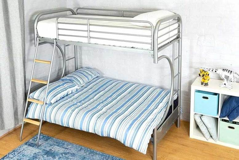 Double Futon Bunk Bed  Frame Only or Frame & Mattresses!
