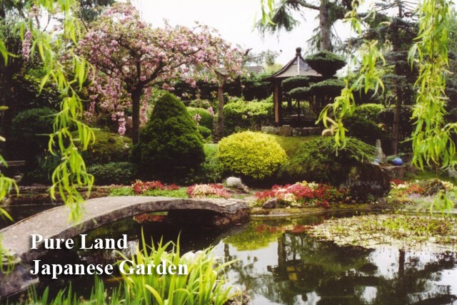 Wowcher deal pure land meditation centre japanese for Japanese meditation garden