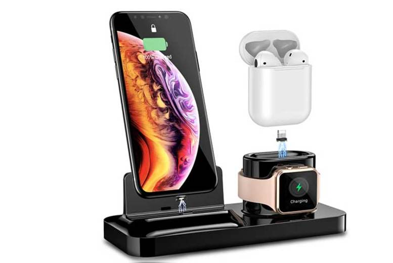 3in1 iPhone, Airpods, & Apple Watch Charging Station