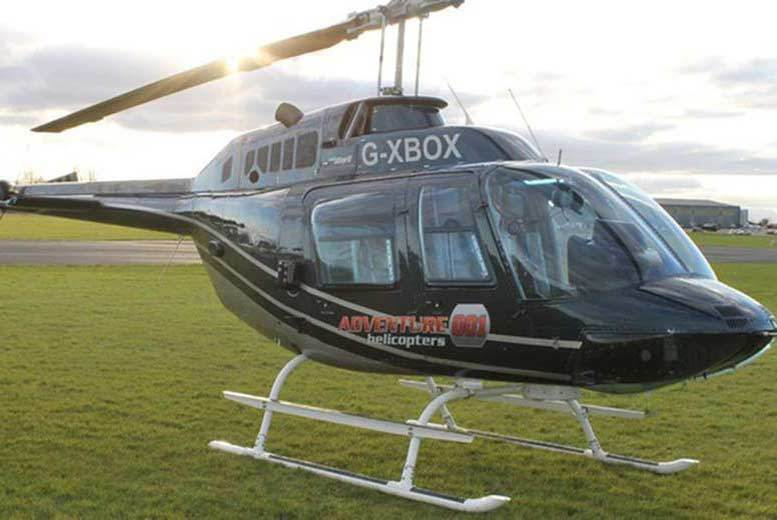 Activities: Blue Skies Helicopter Tour for 1 or 2 - 38 Locations!