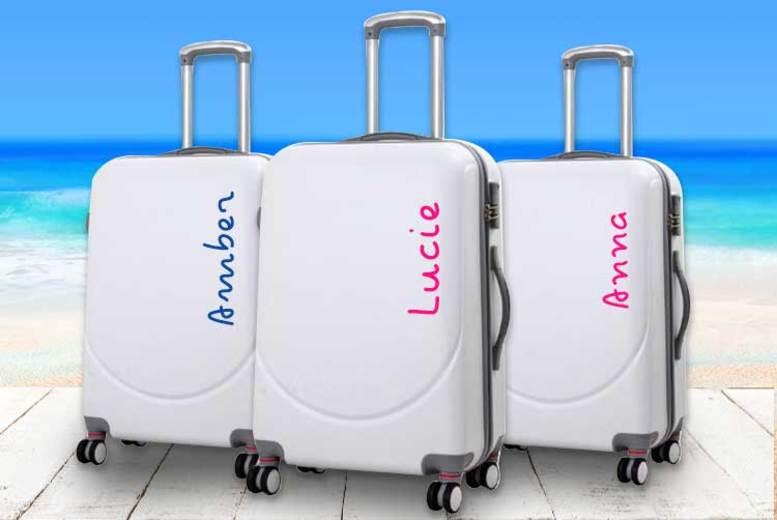 ? Island-Inspired Personalised Suitcase Sticker - 3 Sizes!