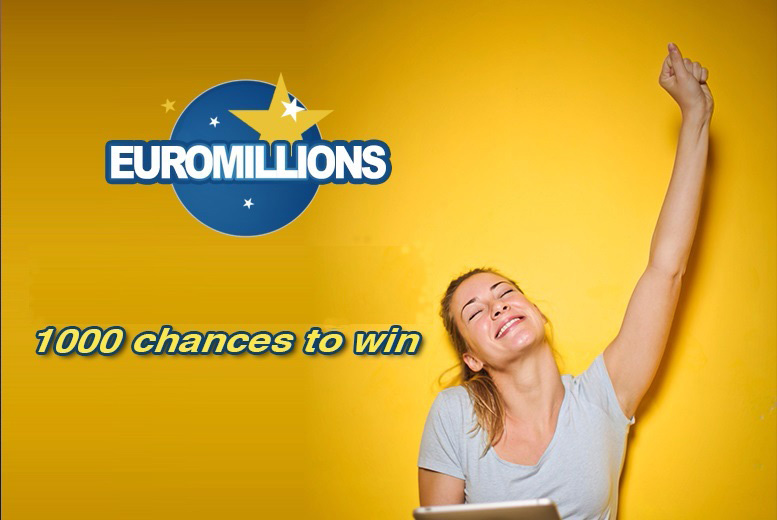 Entertainment: 1,000 Euromillions Syndicate Lines - £133 Jackpot!