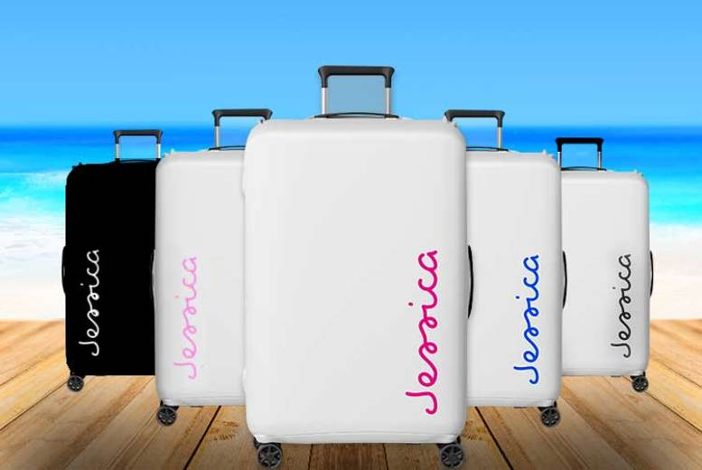 ? IslandInspired Personalised Durable Suitcase Sticker  1 or 3!