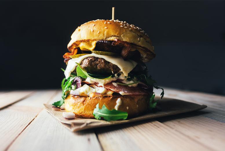 Restaurants & Bars: Burger & Fries For 2 @ Burger Boulevard