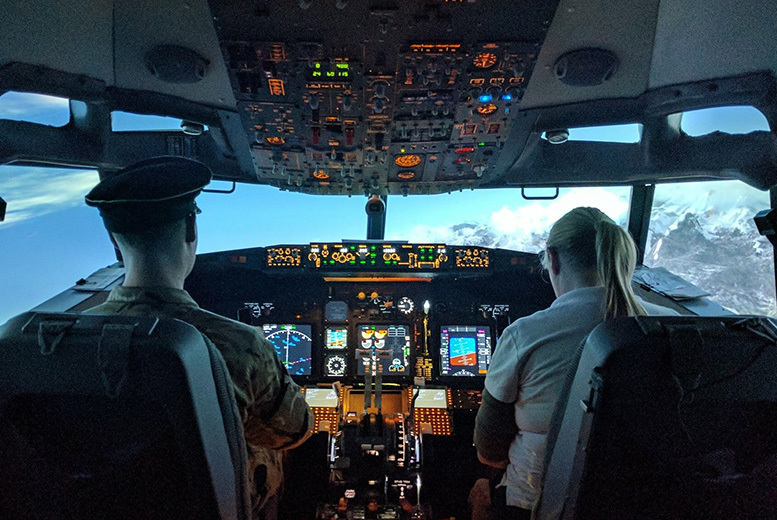 Activities: Boeing 737, F35 or Spitfire Flight Simulator Experience, Newcastle - 4 Options!