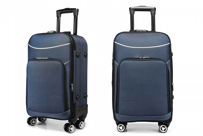 Soft Shell Waterproof Suitcase 3 Colours!