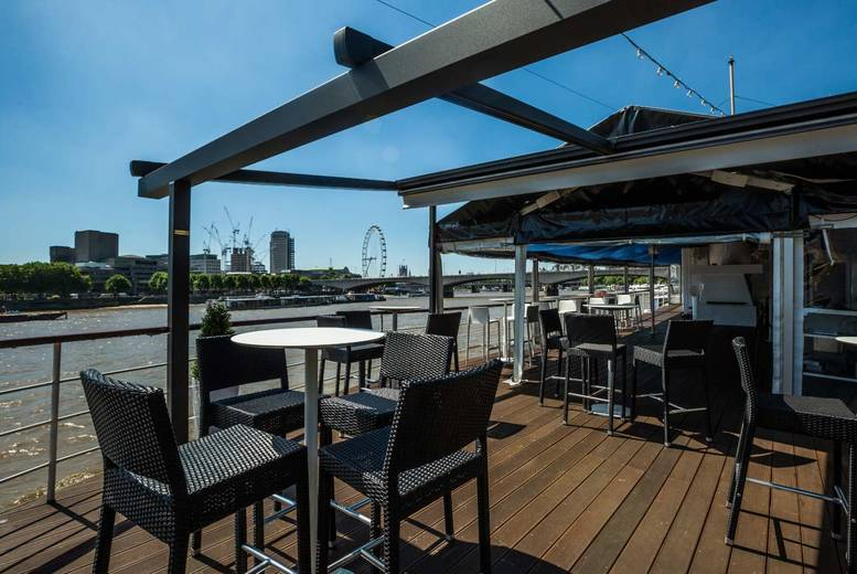 Restaurants & Bars: 2-Course Lunch & Bubbly On The Thames @ The Yacht