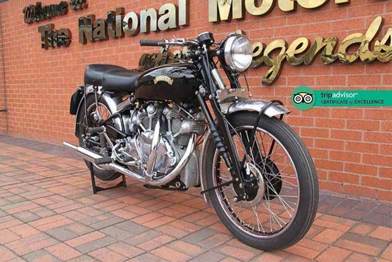 Activities: 2 National Motorcycle Museum Tkts, Solihull - Family Option!