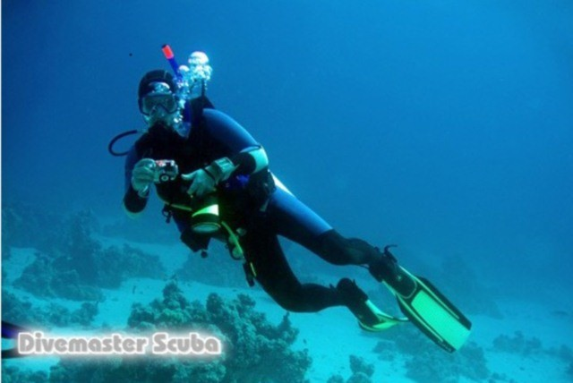 £9 for a 2hr scuba diving lesson for 2 or £25 for a 2hr lesson for 2 with a dive propulsion vehicle at Dive Master Scuba - save up to 64%