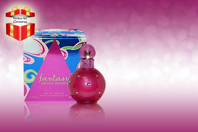 £16.99 instead of £26.99 (from Direct Cosmetics) for a 50ml bottle of Fantasy by Britney Spears eau de parfum - save 37% + DELIVERY INCLUDED!
