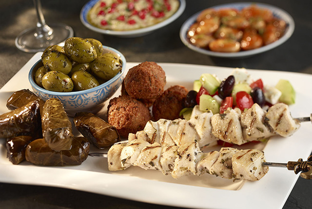 £24 instead of up to £50.30 for a 2-course Lebanese meal for 2 people & a glass of wine each at Fatma Restaurant, Edinburgh - save up to 52%