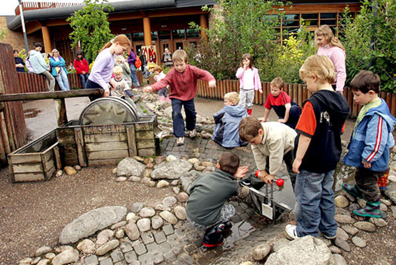 Activities: Family Ticket to Conkers Discovery Centre