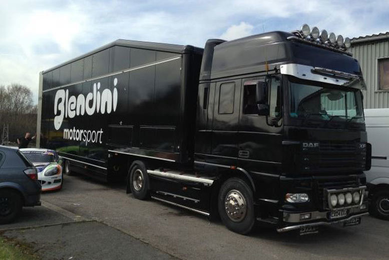Activities: 45ft Truck Transporter Driving Experience with Car Chase Heroes - 13 Locations!