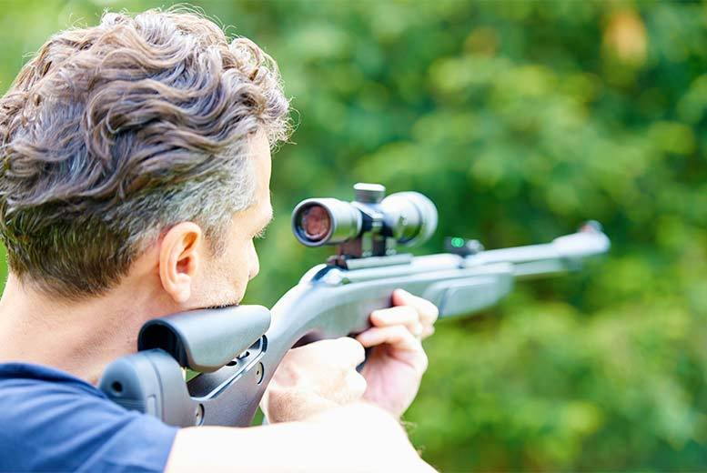 Activities: 1hr Air Rifle Session For 2 People, Hambridge – Unlimited Pellets!