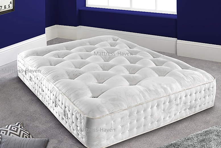 4000 Luxurious Pocket Spring Mattress – 4 Sizes! (£199)