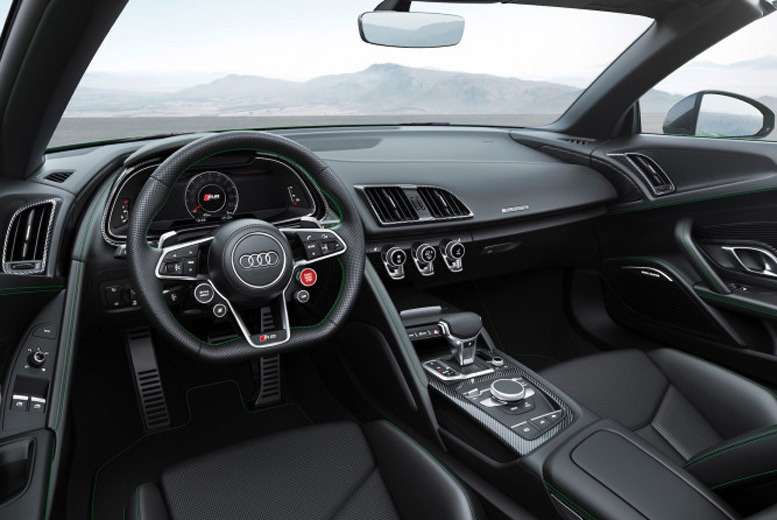 Activities: 3-Lap Audi R8 V10 Plus Driving Experience - 13 Locations!
