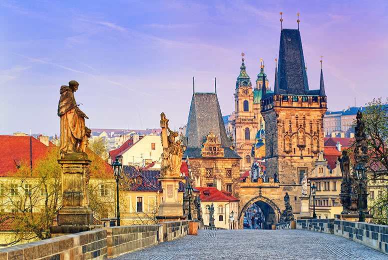 From £79pp for a two-night Prague getaway including breakfast, flights and a river cruise or Hard Rock Cafe dinner, from £99pp for three nights - save up to 71%