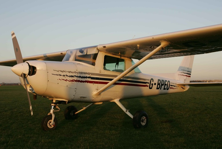 Activities: 30, 40 or 60min Cessna Flying Experience @ Take Flight, Warwickshire