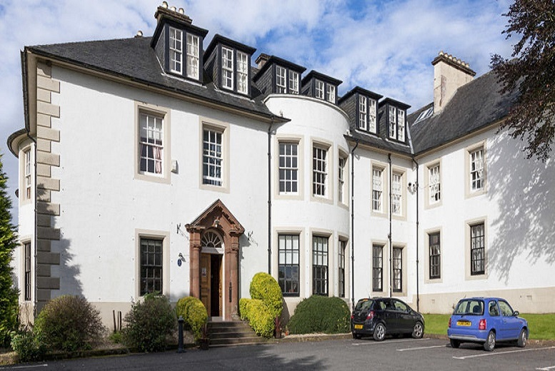 £69 (at Hetland Hall Hotel) for an overnight Dumfries stay for two people including a two-course dinner and bubbly or £99 for two nights - save up to 31%