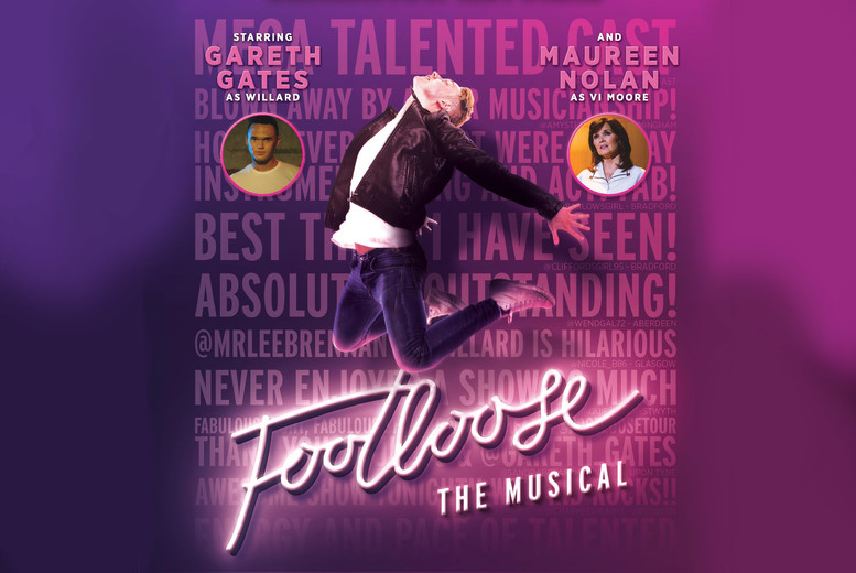 £19.50 for a Band B ticket to see Gareth Gates in Footloose on 11th-13th October at Sunderland Empire, or £25 for a Band A ticket from ATG Tickets - save up to 36%