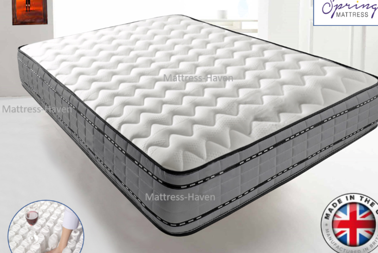 2000 Pocket Spring Memory Foam Mattress – 5 Sizes! (£129)