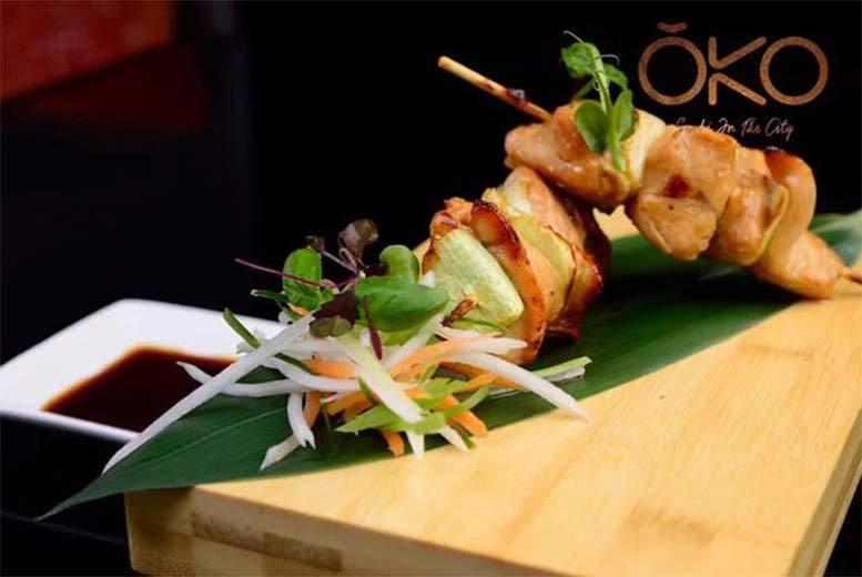 Restaurants & Bars: 2-Course Dining & 'Bottomless' Prosecco for 2 @ OKO, Nuvo Bar