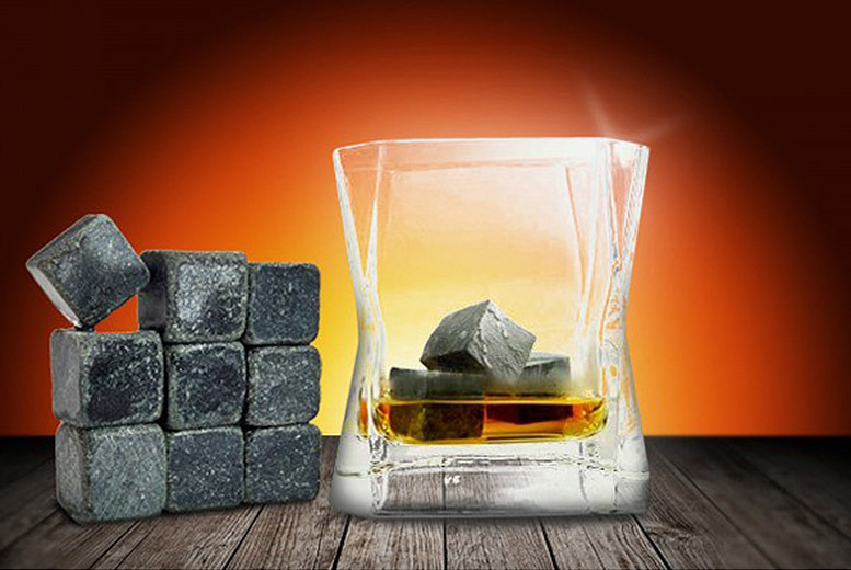 £4.99 instead of £19.99 (from Fusion Online) for nine whiskey stones - save a cool 75%