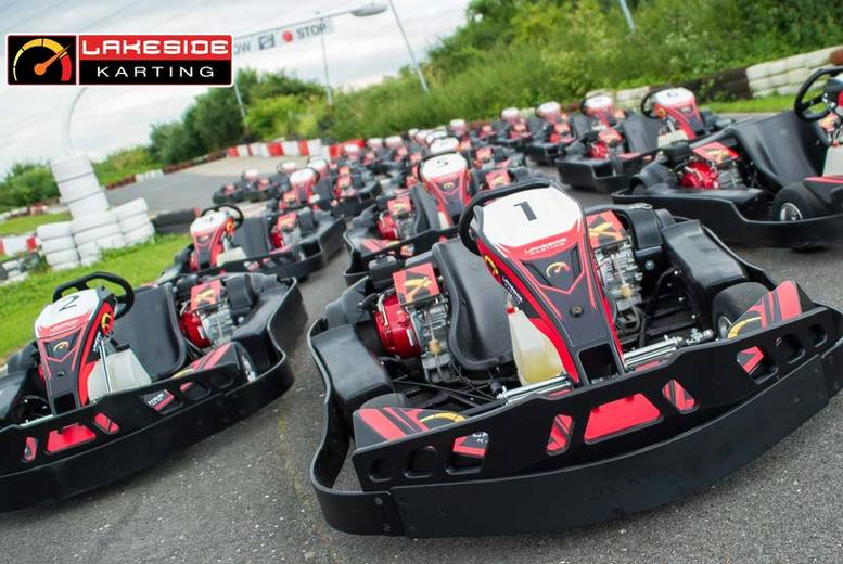 £12.50 for a go-karting experience for one person with LetsGoActive - choose from two locations!