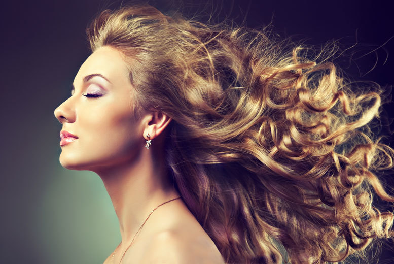 £38 for a 5* hair makeover including a head massage and a half head of highlights for one, or £74 for two at Ingliston Country Club Salon, Bishopton
