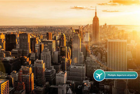 From £599pp (from ClearSky Holidays) for an eight-night New York, Las Vegas and Los Angeles break with all flights, or pay a £150 deposit today - save up to 46%