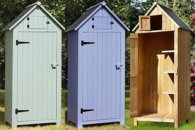 Beach Hut Style Storage Shed | Garden Furniture deals in ...