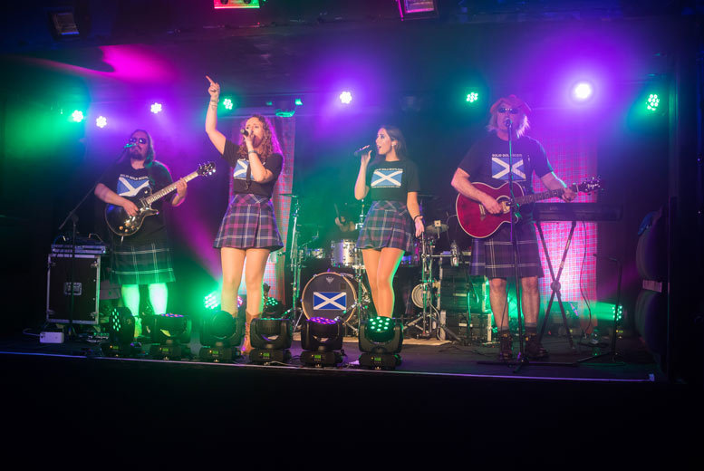 Entertainment: Solid Gold Scotland Tribute Show @ The Garage