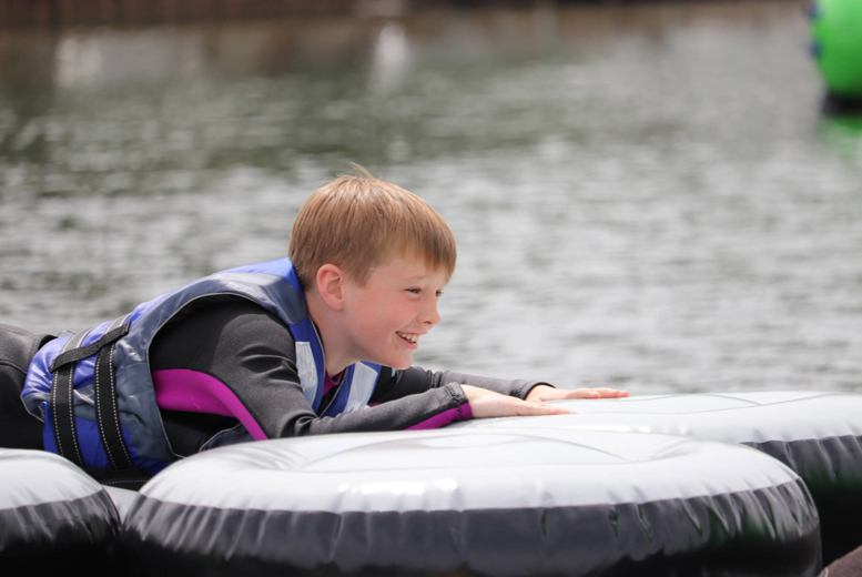 Activities: Northampton Aqua Park Entry & Wetsuit Hire for up to 12