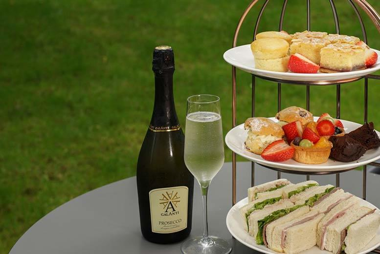 Restaurants & Bars: 4* Courtyard by Marriott Prosecco Afternoon Tea for 2 or 4