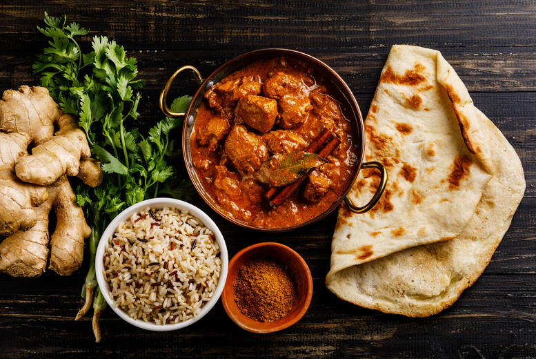 Restaurants & Bars: 2-Course Indian Dining & Drink for 2 or 4 @ The Mogul Room, Barnsley