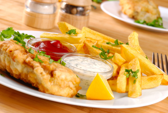 £12 instead of up to £32.70 for fish and chips for 2 including a glass of wine and a coffee each at Zenny's, Chiswick - save up to 63%