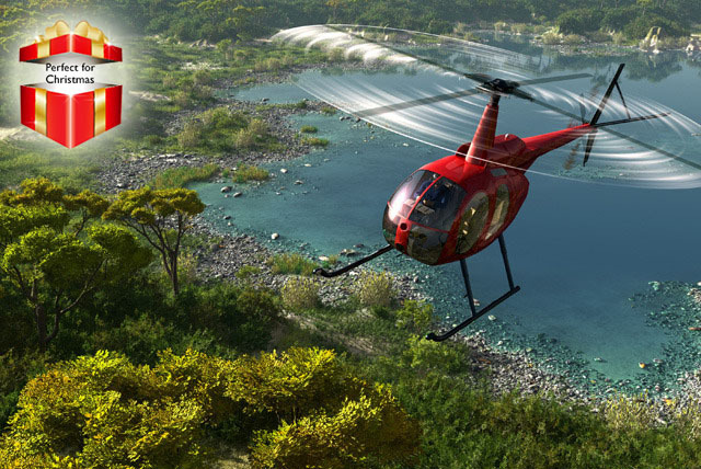 £99 instead of £199 for a 45-minute helicopter flying lesson valid in 9 UK locations with Adventure 001 - save 50%