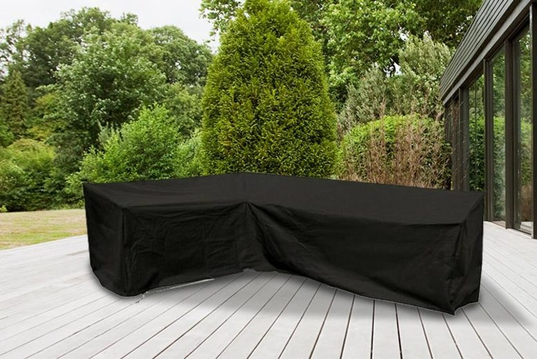 Waterproof L-Shaped Garden Furniture Cover