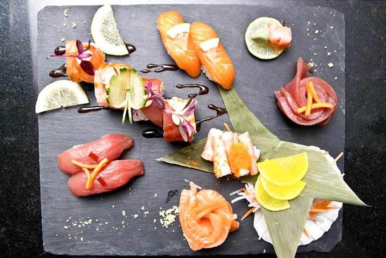 Restaurants & Bars: Sushi & Sashimi Dining & Cocktails for 2 @ OKO, Nuvo Bar