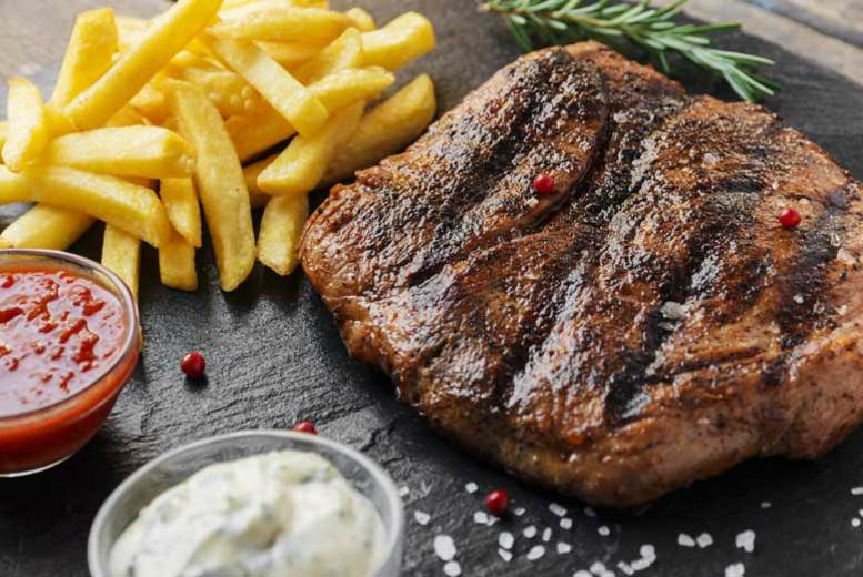 Restaurants & Bars: Steak Dining & Glass of Wine for 2 @ Reeds Restaurant