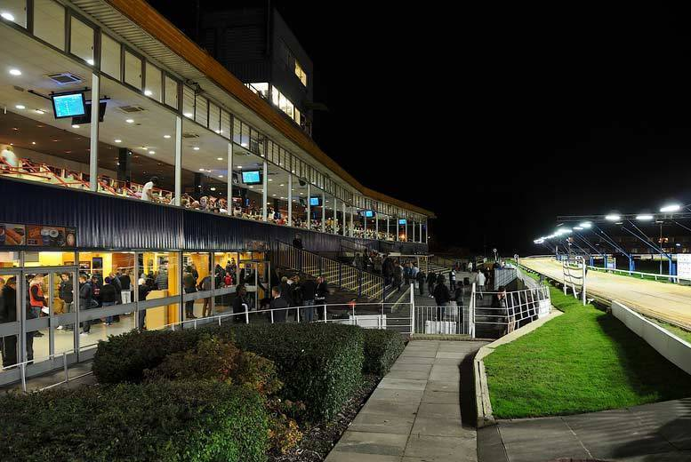 Entertainment: Dog Racing, Burger & Drink for 2 @ Perry Barr Stadium, Birmingham