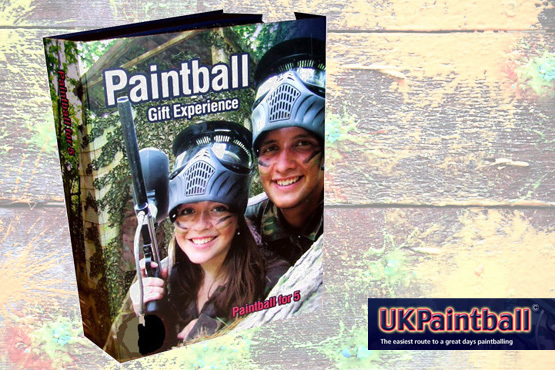 £5 instead of £29.99 for a Paintball gift box for up to 5 people. Play at one of 50 locations in the UK – Get up to 10 games, a free lunch* and save 83%