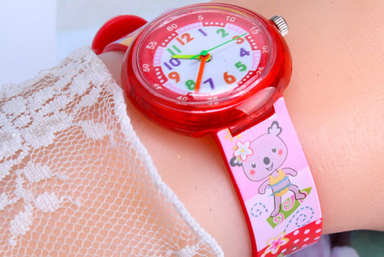 Kids Cartoon Jelly Watch 5 Designs!