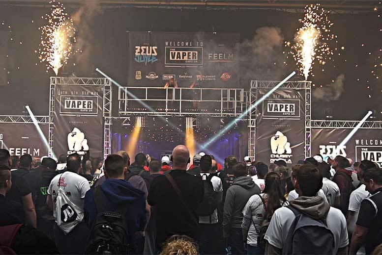 Entertainment: Tkt To The Vaper Expo UK @ NEC, Birmingham