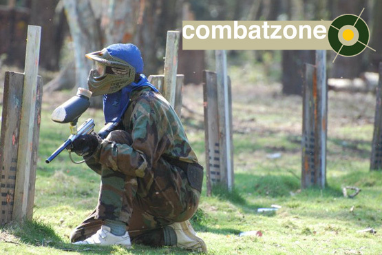 £3 instead of £15 for a day's paintballing at Combat Zone Paintball, Lincoln with lunch, equipment hire and 100 paintballs - save 80%