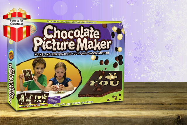 £9.99 instead of £16 for a chocolate stencilling and picture making kit from Wowcher Direct - save 38% + delivery included!