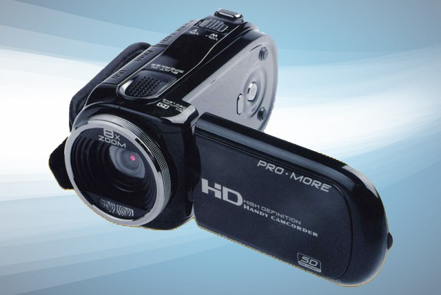 £59 instead of £119.62 (from Vivacity Stores) for a 12MP HD Digital Camcorder with 8x digital zoom – unleash your inner Spielberg and save 51%