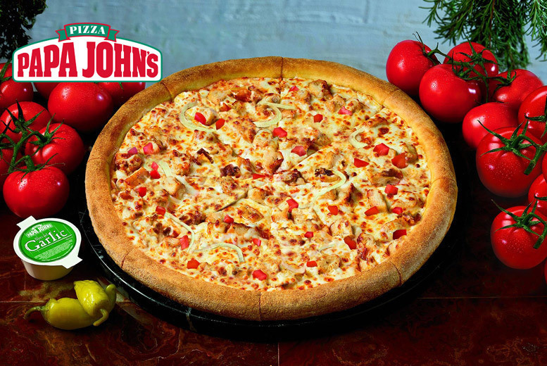 Restaurants & Bars: Small, Large or XXL Pizza @ Papa John's, Derby