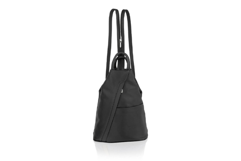 Italian Leather Rucksack w/ Adjustable Straps  4 Colours!