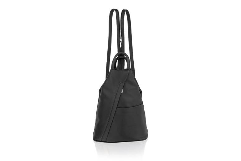 Italian Leather Rucksack w/ Adjustable Straps - 4 Colours!